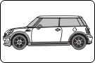 Mini One 2007 Vehicle Template