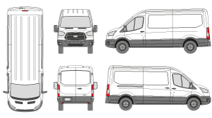 Current Vehicle Templates Our Premium Membership Includes Tempates FORD Transit